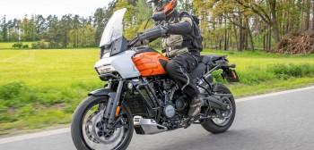 Harley-Davidson 1250 Pan America - test nowości 2021