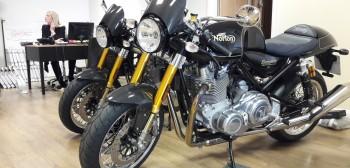 Motocykle Norton - fabryka marzeń