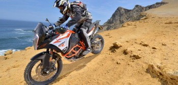KTM 1290 Super Adventure R - pustynny lis