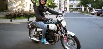 Romet Classic 400 - klasyczny motocykl dla początkujących [test video]