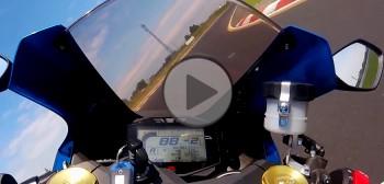 Suzuki GSX-R 1000 - test na torze