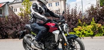 Honda CB300R - stylowy średniak bez kompleksów [TEST]