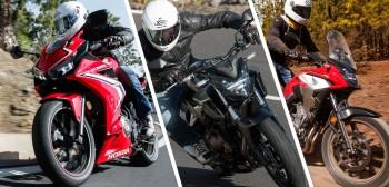 Honda CB 500F, CBR 500R i CB 500X - trio na prawo jazdy A2 [TEST]