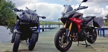 Yamaha Niken vs Yamaha Tracer 900. Test porównawczy [FILM]