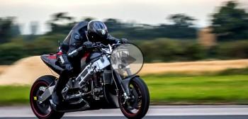 Madmax Streetfighter - motocykl z silnikiem turbinowym