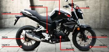Romet RXC 125 - idealny motocykl do miasta