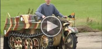 Motocykl-czołg - Kettenkrad, czyli esencja ultra hard enduro