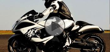 Najmocniejszy motocykl w Polsce - Suzuki Hayabusa Turbo 557 KM