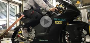 Trumph i Kalex testują nowy motocykl GP klasy Moto2