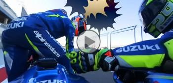 Interaktywne video od Suzuki - bądź pasażerem Andrei Iannone lub Alexa Rinsa!