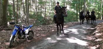 Zachodniopomorskie: kolejna zmasowana akcja policji i straży leśnej przeciwko motocyklistom
