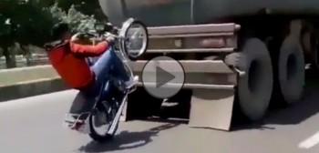 Wheelie ze wspomaganiem