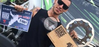 Marcin Głowacki zdobywa pierwsze miejsce na Ouest Bike Show Contest! [FILM]