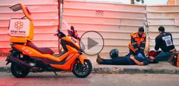 Izraelski moto-ambulans ponad podziałami