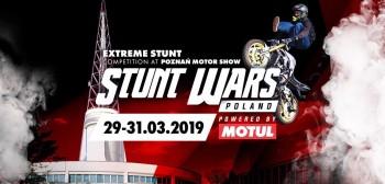 Stunt Wars Poland 2019 na Poznań Motor Show. Rozkład jazdy!