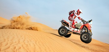 Rafał Sonik na podwójnym podium w Desert Challenge