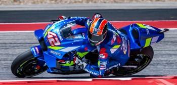 Alex Rins na Suzuki wygrywa w Teksasie