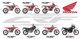 Honda ogłasza nowe motocykle crossowe CRF z roku modelowego 2020