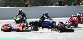 Koncert dzwonów podczas Grand Prix Katalonii w MotoGP