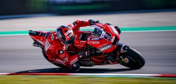 Petrucci znów na podium, pech Doviego - relacja zawodników Ducati z GP Katalonii