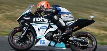 Kamil Barcik wskakuje na podium Mistrzostw Polski Supersport 300