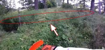 Lubuskie: dwaj motocykliści omal nie trafiają w stalową linkę [FILM]