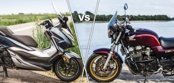Pojazd na co dzień - motocykl, czy maxiskuter? Porównanie okiem właściciela