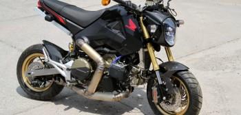 Honda MSX125 z silnikiem Ducati Panigale - 205 KM czystego szaleństwa!