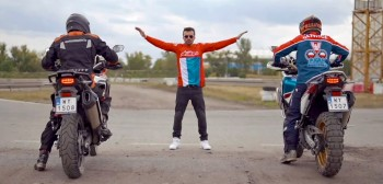 Honda Africa Twin i tor rallycrossowy. Mierzymy się z kolejnym waszym wyzwaniem! [FILM]
