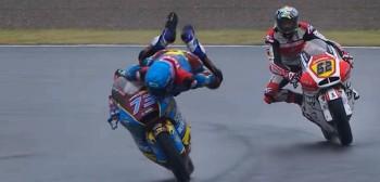 Uratował taki high side! Genialna akcja Alexa Marqueza na GP Japonii [FILM]