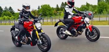Ducati Monster 797 oraz 1200 - test i mały zlot Monsterów [FILM]