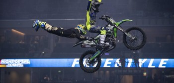 NIGHT of the JUMPs: wyniki pierwszej rundy FMX of Nations w Berlinie