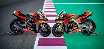 Całkowicie odnowiona Aprilia RS-GP rzuca nowe wyzwania w MotoGP w nadchodzącym sezonie!