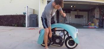 Volkspod, czyli Volkswagen minibike i 11 minut, jak zbudować swojego