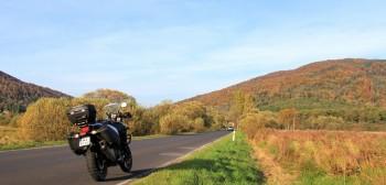 Trasy motocyklowe i ciekawe miejsca w Polsce: Bieszczady