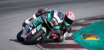 Piotr Biesiekirski testował motocykl z MŚ Moto2!