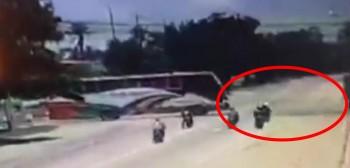 Tragedia na autostradzie w Tajlandii. Trzech motocyklistów zginęło na linie holowniczej