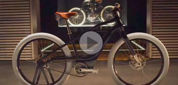 Elektryczny rower od Harley-Davidson już jest. Serial 1 eBicycle w hołdzie Harley-Davidson Model 1