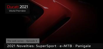 SuperSport, Panigale i… jeszcze jeden jednoślad! Już dziś kolejne premiery Ducati!