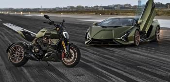 Ducati Diavel Lamborghini Edition - tak wygląda, tak jeździ. Ducati i Lamborghini odsłaniają karty