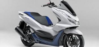Honda PCX HEV na 2021 - seryjny skuter hybrydowy