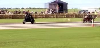 Skuter Lambretta z silnikiem Yamaha RD 350 robi 230 km/h na prostej