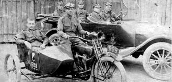 Motocykle Wojska Polskiego w pierwszych latach pokoju