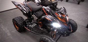 Quad z silnikiem KTM 1290 Super Adventure S. Atv Swap Garage w dobrej formie