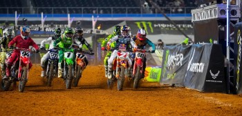 AMA Supercross: wyniki drugiej rundy w Arlington [VIDEO]