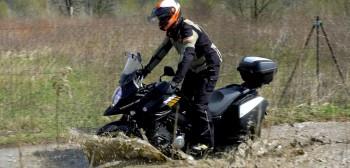 Suzuki DL 650 XT test motocykla
