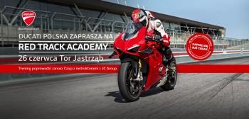 Ducati Polska zaprasza na Red Track Academy. Zapisz się!
