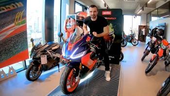 Aprilia RS660 - wszechstronny motocykl ze sportowym charakterem