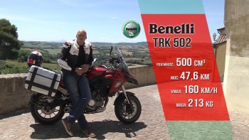 Benelli TRK 502 - test motocykla