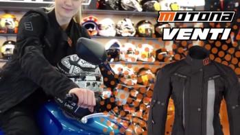 Dobra kurtka na motocykl dla kobiety - Motona Venti
